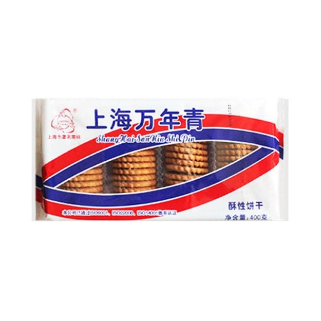 商品详情 - 三牛牌 上海万年青 酥性饼干 400g - image  0