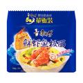 康师傅 鲜虾鱼板面 5包装 101克