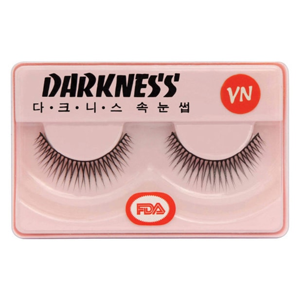 Product Detail - DARKNESS False Eyelashes #VN 1Pair In 1Box - image 0