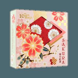 【2021春季限定樱花款】日本 LUPICIA 绿碧茶园 清香樱花红茶 10袋