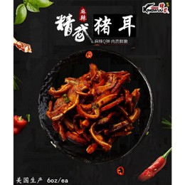 KINGWUU PORK EAR 6oz/ea