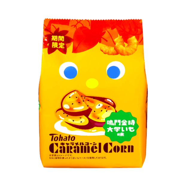 Product Detail - TOHATO Caramel Corn Sweet Potato Flavor 77g - image 0