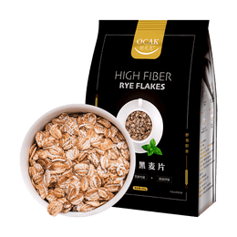 OCAK High Fiber Dietary Sugar-Free Rye Flakes 600g