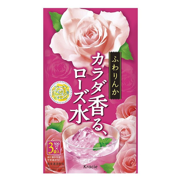 Product Detail - KRACIE Collagen Rose Powder 10g*3packs - image 0