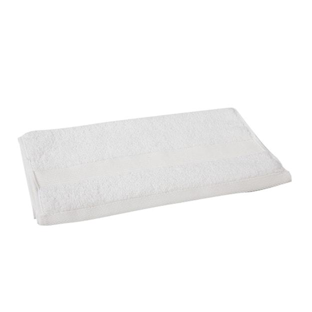 商品详情 - 苏宁极物 埃及进口长绒棉毛巾 白色 - image  0