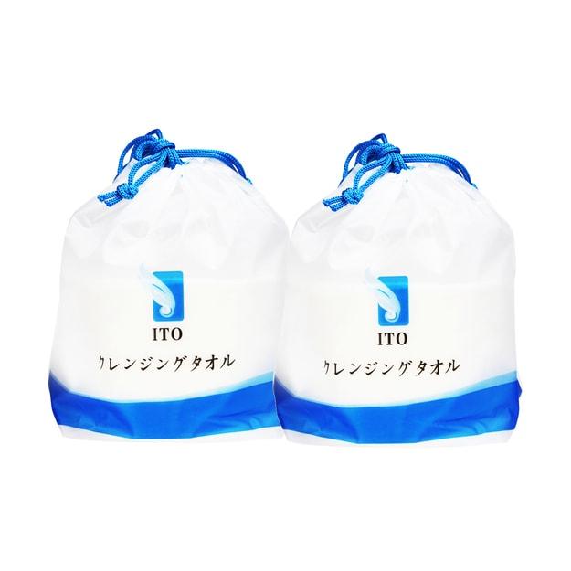 Product Detail - Face Cotton Towel, 80 pcs x 2Bags - image  0