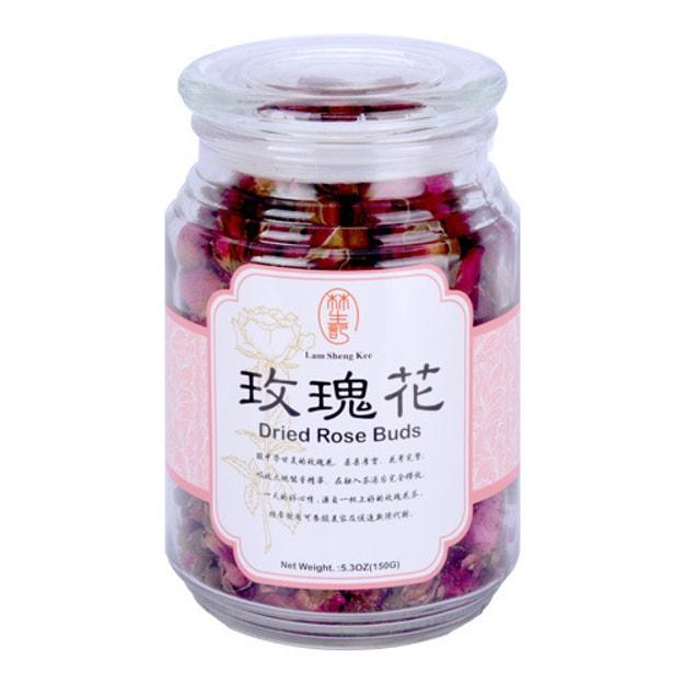 商品详情 - 台湾林生记 玫瑰花 瓶装 150g - image  0