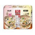 【日本直邮】DHL直邮3-5天到 日本朝日ASAHI 低热量 速食 代餐粥 低脂低卡 发芽玄米烩饭粥 5袋2种口味入