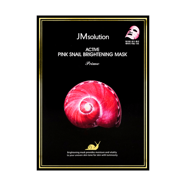 Product Detail - JM SOLUTION Active Pink Snail Brightening Mask Prime 10 Sheets - image 0