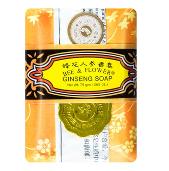BEE & FLOWER Multi Purpose Soap Ginseng 75g