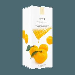 【美容养颜】【小红书爆款】日本杉养蜂园 柚子蜂蜜 500g 日本国宝级蜂蜜