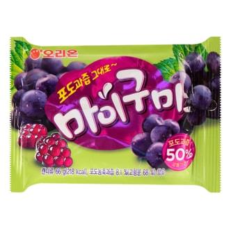 韩国ORION好丽友 葡萄味软糖 66g
