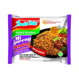 印尼营多 辣味牛肉干炒面 80g 世界十大最好吃泡面