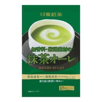 日本NITTOH日东红茶 西尾宇治抹茶奶茶  120g