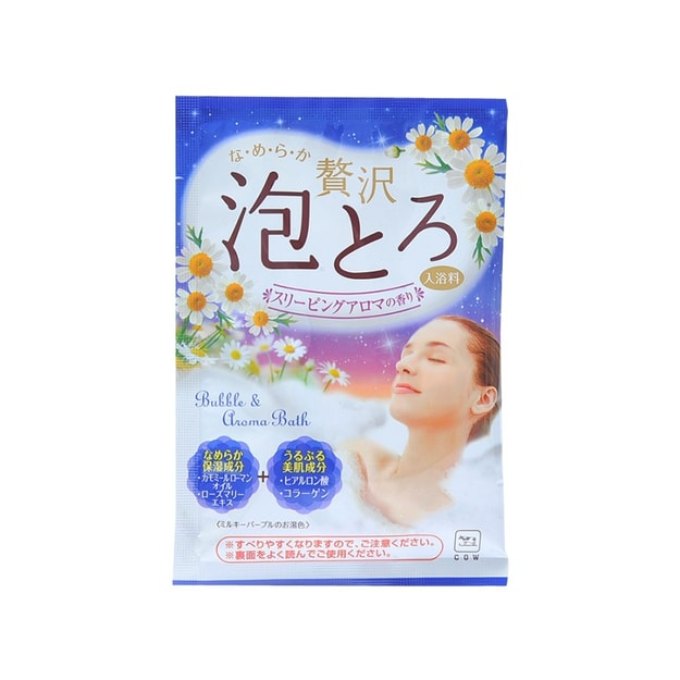 COW Bath Story  Bath Salts Sleeping Aromatic 30g