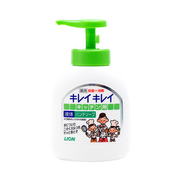 Product Detail - LION Kireikirei Hand Soap for Kitchen 250ml - image 0