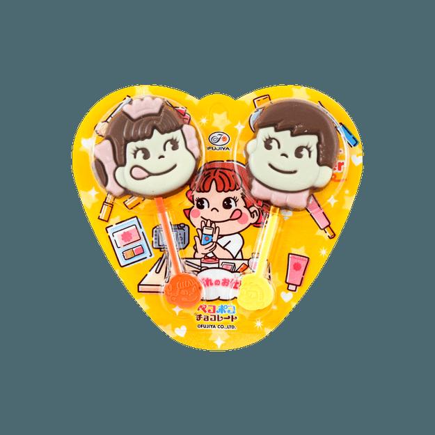 商品详情 - 日本FUJIYA不二家 巧克力棒棒糖0.84oz - image  0