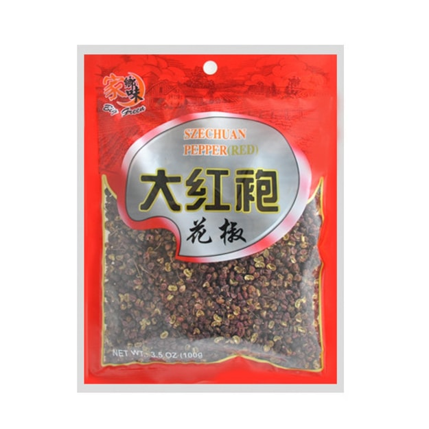 Product Detail - BIG GREEN Szechuan Red Peeper 100g - image 0