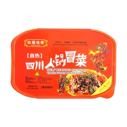 BASHUSHIJIA Self Heating Sichuan Take Food Material 415g