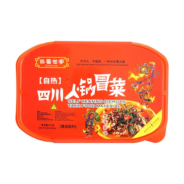 Product Detail - BASHUSHIJIA Self Heating Sichuan Take Food Material 415g - image 0