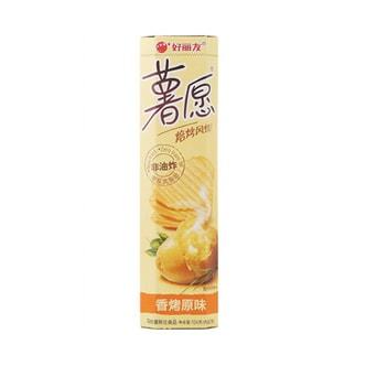 韩国ORION好丽友 非油炸薯愿薯片 香烤原味 104g