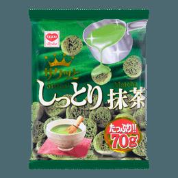 日本RISKA 粟米脆小饼 抹茶巧克力味 70g