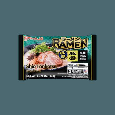 【冷冻】MYOJO 盐猪骨拉面 333g