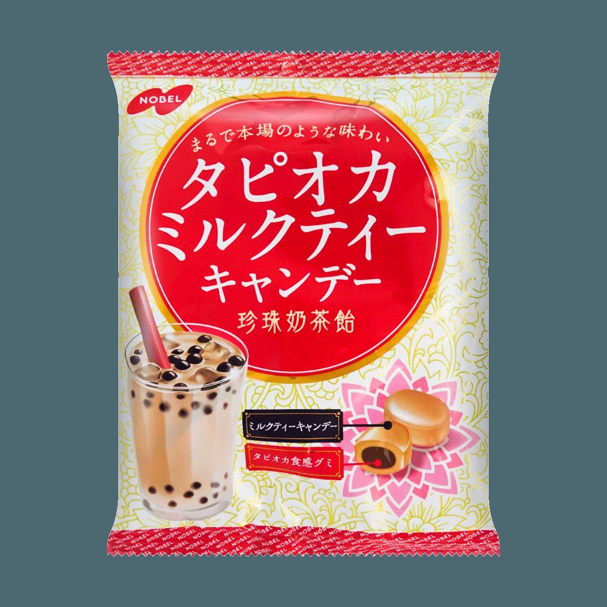 日本NOBEL诺贝尔製菓 黑糖珍珠奶茶糖果 夹心硬糖 90g 怎么样 - 亚米网