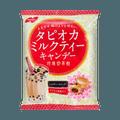日本NOBEL诺贝尔製菓 黑糖珍珠奶茶糖果 夹心硬糖 90g