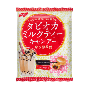 NOBEL Brown Sugar Boba Milk Tea Hard Candy 90g