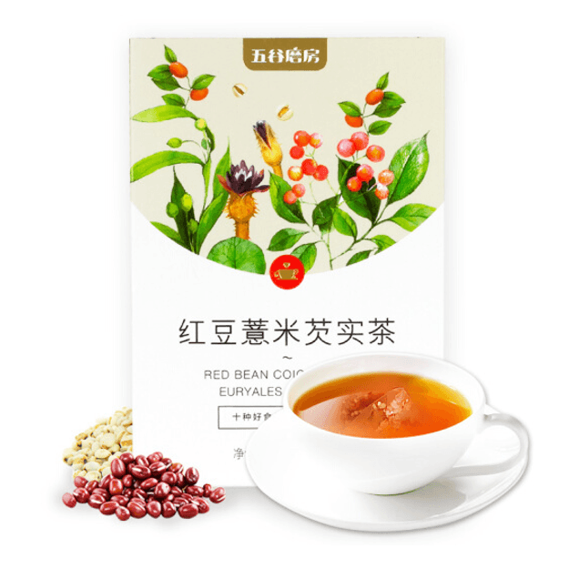 Product Detail - WUGU MOFANG Red Bean Coicis Seed and Euryales Seed Tea 120g (20 BAGS) - image 0