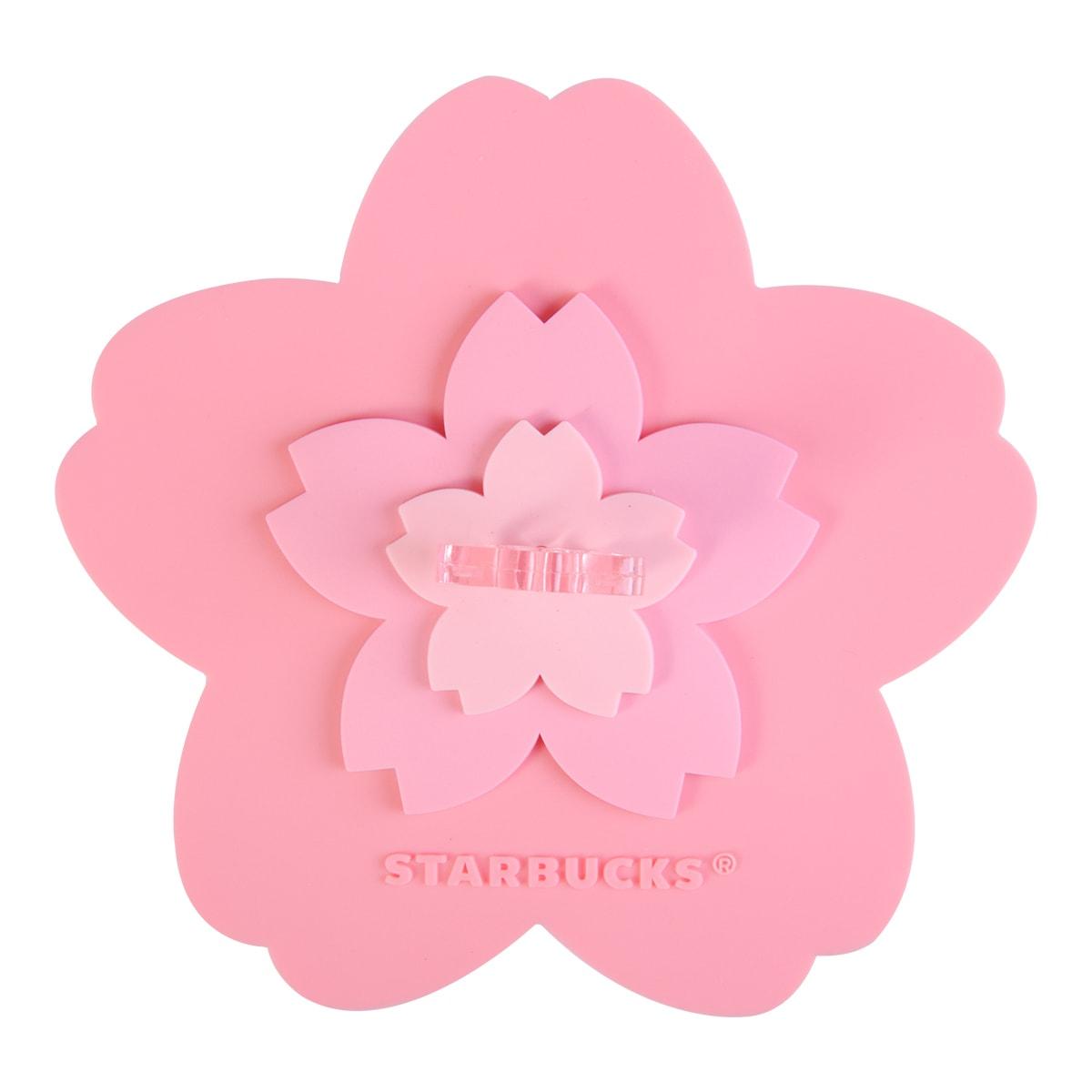 Starbucks 2017 Sakura Cherry Blossom gift on to go card set Taiwan limited