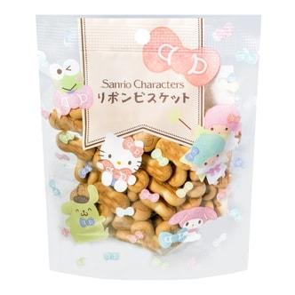 日本SANRIO三利欧 HELLO KITTY童趣蝴蝶结饼干 50g