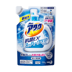 【Bundle】【New】Enzymes Wash Laundry Detergent Antibacterial 770g*4