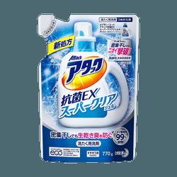 【抗菌EX】日本KAO花王 酵素洗衣液 强力抗菌替换装 770g