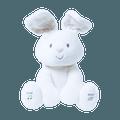 """GUND Flora 12"""" 可爱毛绒动物玩具 #兔子 带有音乐和捉迷藏功能 圣诞新年生日礼物"""