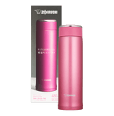 ZOJIRUSHI Stainless Steel Thermal Bottle Floral Pink 480ml SM-LB48