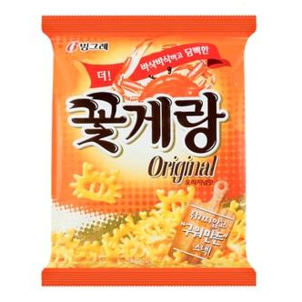 韩国BINGGRAE宾格瑞 膨化食品 原味蟹酥脆片 70g