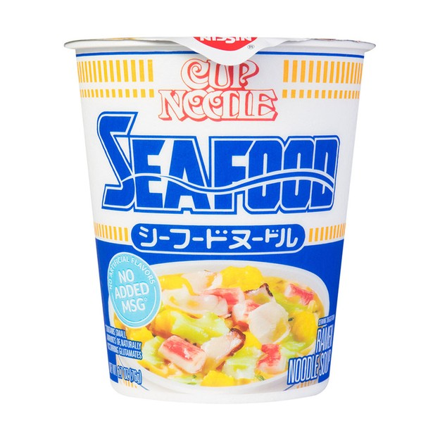 商品详情 - 日本NISSIN日清 合味道 海鲜风味杯面 76g - image  0