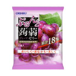 Jelly Red Grape Flavor 6pcs 120g