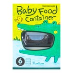 GlASSLOCK Baby Food Tempered Glass Container 150ml×3