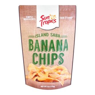 美国SUN TROPICS 香蕉干 170g