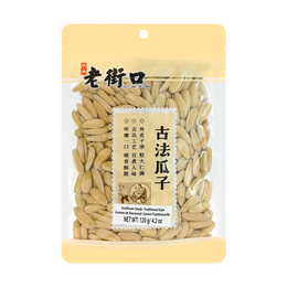 LAOJIEKO Sunflower Seeds Traditional Style 120g