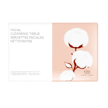 Facial Cleansing Tissue, 120 Sheets