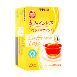 日本NITTO日东 无咖啡因红茶 39g