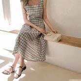 【韩国直邮】CHERRYKOKO 夏季简约纯色平底凉鞋 黑色 37