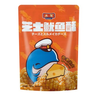 Sea Naviy Squid Crust Cheese Flavor 120g