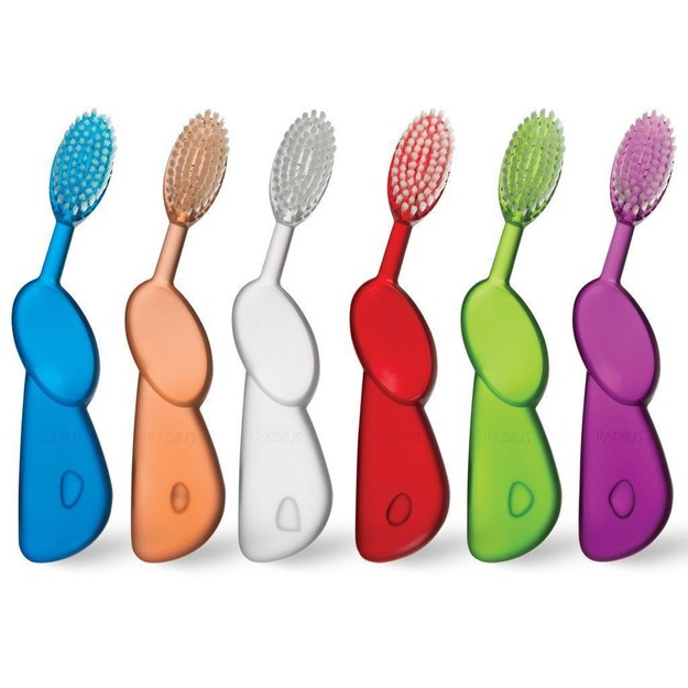 Product Detail - RADIUS Toothbrush Original Adult Right Hand Soft Bristles 6 Units - image 0