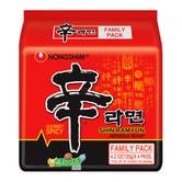 韩国NONGSHIM农心 速食辛拉面 红色系列 4包入