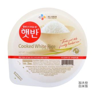 韩国CJ希杰 微波即食米饭 加大份 300g